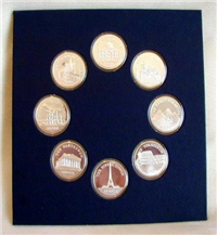 The Wonders of Mankind Medals Collection  (Franklin Mint)