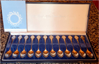 The Zodiac Spoons Collection   (Franklin Mint, 1972)