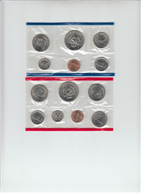 USA  13 Coins Uncirculated Mint Set  (US Mint, 1981)