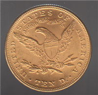 USA 1881  $10 Ten Dollar Gold  Liberty Head  Gold Coin