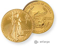 USA $5 1/10 Ounce Gold American Eagle Coin (ANY DATE)