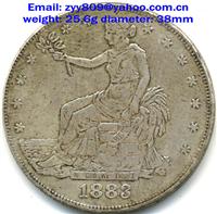 USA 1883  Trade Silver Dollar