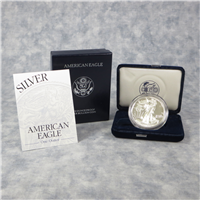 American Eagle Silver Dollar Proof with Box & COA (US Mint, 1997P)
