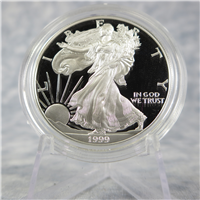 American Eagle Silver Dollar Proof in Box with COA  (US Mint, 1999-P)