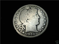 USA 1902O  Barber Half Dollar