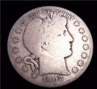 USA 1902S  Barber Half Dollar