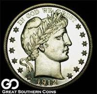 USA 1912  Barber Half Dollar