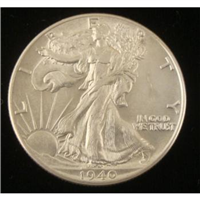 USA 1940  Walking Liberty Half Dollar
