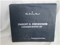 Dwight D. Eisenhower Commemorative Silver Medal Set (Danbury Mint, 1969)