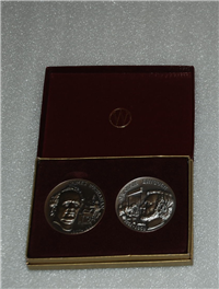 The Presidential Signature Series Profiles Medals Collection   (Wittnauer Mint, 1972)