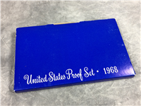 1968 USA PROOF SET 5 Coins (US Mint. 1968) FREE SHIPPING