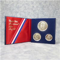 Bicentennial 3 Coins Silver Proof Set   (U.S. Mint, 1976)