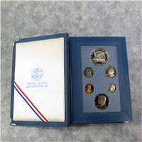 6 Coin Prestige Silver Proof Set  (US Mint, 1987)