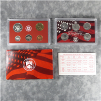 10 Coins 50 State Quarters Silver Proof Set  (U.S. Mint, 2003)