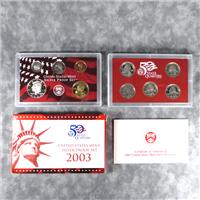 10 Coins 50 State Quarters Silver Proof Set  (U.S. Mint, 2003)