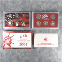 11 Coins 50 State Quarters Silver Proof Set  (U.S. Mint, 2004)