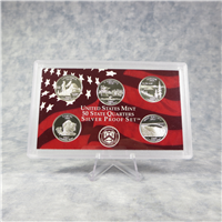 11 Coins 50 State Quarters Silver Proof Set  (U.S. Mint, 2005)
