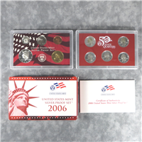 10 Coins 50 State Quarters Silver Proof Set  (U.S. Mint, 2006)