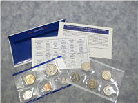 USA  10 Coins 50 State Quarters Uncirculated Coin Set  (Philadelphia Mint, 2002)