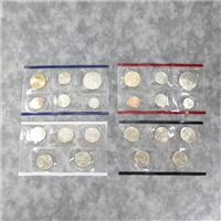 USA 22 Coins Philadelphia & Denver Uncirculated Set (U.S. Mint, 2005)