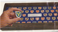 The Heraldry Society of Great Britain's Coats of Arms of the Great Monarchs of History Ingot Collection   (Franklin Mint Canada, 1980)