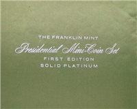 Franklin Mint  Treasury Of Presidential Commemorative Medals (Mini, Platinum)