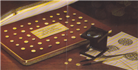 The World's Greatest Gold Coins in 14KT Gold    (Franklin Mint, 1981)