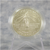 Statue of Liberty Commemorative Silver $1 Dollar Uncirculated Coin (US Mint, 1986)