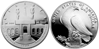USA 1984 P Olympic Silver $1 Dollar    Silver Coin