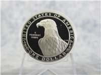 Olympic Silver $1 Dollar Proof Coin  (U.S. Mint, 1983)