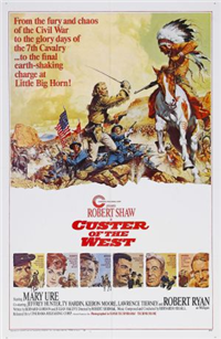 CUSTER OF THE WEST   Original American One Sheet   (Cinerama, 1968)