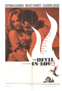 THE DEVIL IN LOVE   Original American One Sheet   (Warner Brothers, 1968)