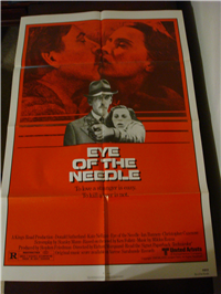 EYE OF THE NEEDLE   Original American One Sheet   (United Artists, 1981)