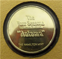 The Four Seasons by Norman Rockwell Medals Collection  (Hamilton Mint)