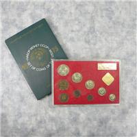 USSR 9 Coin Mint Set  (Leningrad Mint, 1975)