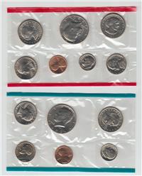 USA P-D-S 13 Coins Uncirculated Mint Set  (US Mint, 1980)