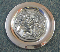 'Boston Tea Party December 16, 1773' Commemorative Plate  (Wittnauer Mint, 1973)