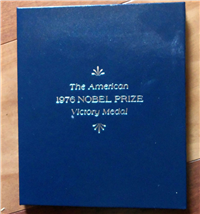 The 1976 American Nobel Peace Prize Victory Medal  (Franklin Mint, 1976)