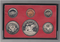 USA 6 Coins Proof Set  (U.S. Mint, 1977)