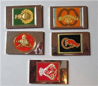 Franklin Mint International Military Archives The Official Emblems of the World's Greatest Regiments Regimental Emblems