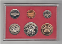 USA 6 Coins Proof Set  (U.S. Mint, 1982)