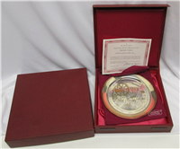 'Molly Pitcher - Heroine of Monmouth' Bicentennial Commemorative Plate  (Danbury Mint, 1978)