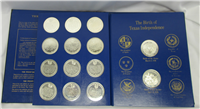 The Texas Under Six Flags Medals Collection   (Franklin Mint)