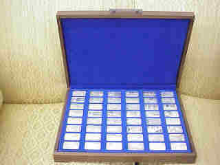 The Great Events and Leaders of World War Two II Ingots Collection   (Lincoln Mint, 1977)